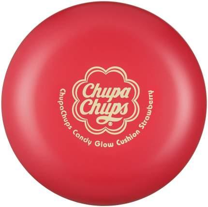 Тональный крем Chupa Chups Candy Glow Cushion Strawberry SPF50+ 1.0 Ivory 14 г