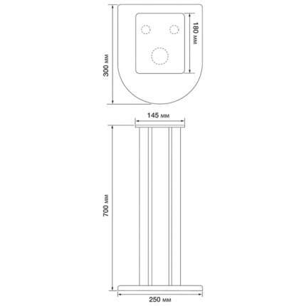Стойка под колонки Atacama Nexus 7i Черная