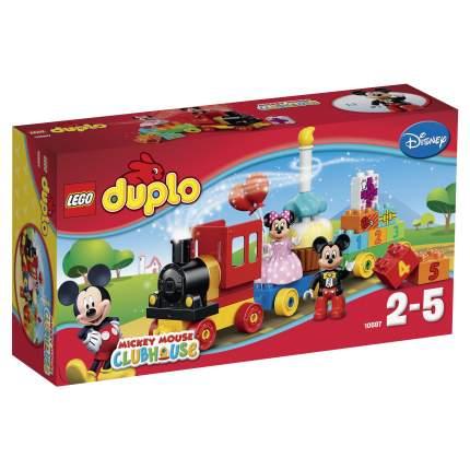 Конструктор LEGO Duplo Disney День рождения с Микки и Минни (10597)