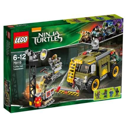 Конструктор LEGO Ninja Turtles Спасательная операция на Черепашьем фургоне (79115)