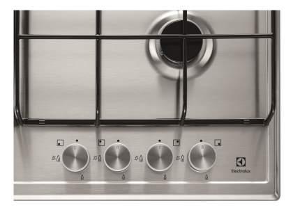 Встраиваемая варочная панель газовая Electrolux GPE363FX Silver