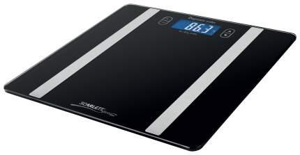 Весы напольные Scarlett Silver Line SL-BS34ED42 Серебристый, черный