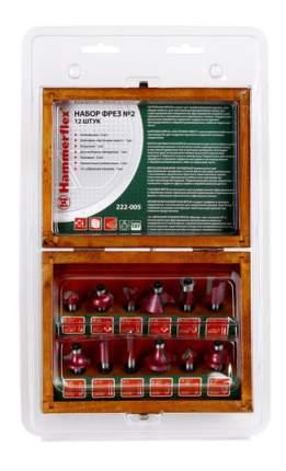 Наборы фрез для фрезера Hammer Flex 222-005 (58595)