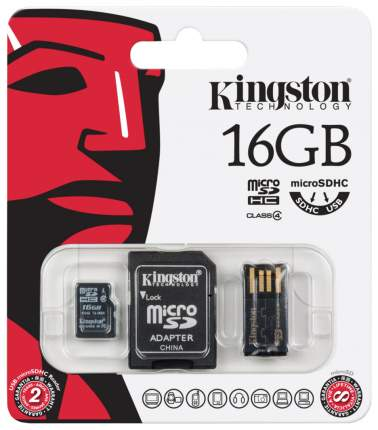 Карта памяти Kingston Micro SDHC MBLY4G2 16 GB