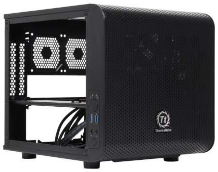 Компьютерный корпус Thermaltake Core V1 без БП (CA-1B8-00S1WN-00) black