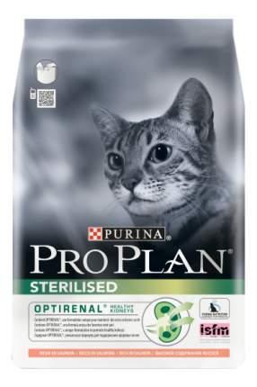Сухой корм для кошек PRO PLAN Sterilised, для стерилизованных, лосось, 10кг