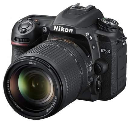 Зеркальный фотоаппарат Nikon D7500 Kit Black