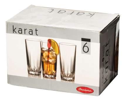 Набор стаканов Pasabahce стакан карат 330 мл 6шт