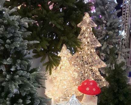 """Kaemingk Ель светящаяся """"Ажурная"""", 90 см, уличная"""
