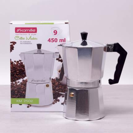 Гейзерная кофеварка Kamille 2502