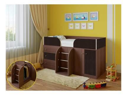 Кровать-чердак РВ мебель Астра 5 дуб шамони/венге