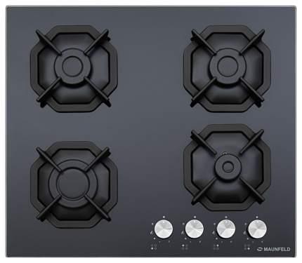 Встраиваемая варочная панель газовая MAUNFELD EGHG.64.2CB/G Black