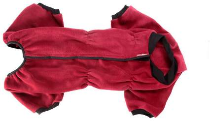 Комбинезон для собак OSSO Fashion размер 4XL унисекс, красный, длина спины 60 см