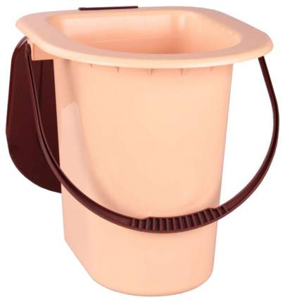 Ведро Альтернатива М1525 Бежевый, коричневый