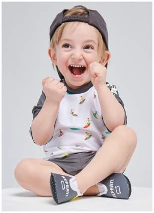 Плавательные тапочки Happy BabyAgua Shoes 24 размер серый; черный