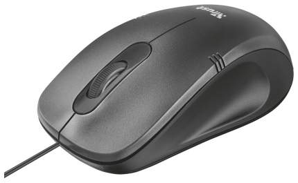 Проводная мышка Trust Ivero Grey/Black (20404)