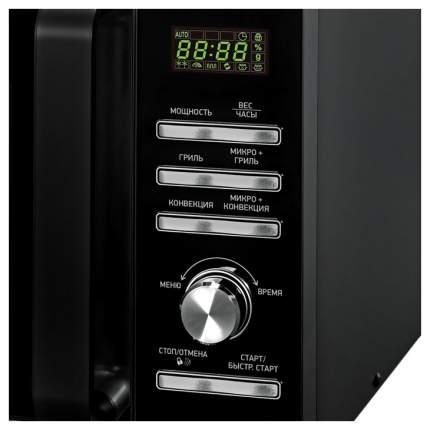Микроволновая печь с грилем и конвекцией BBK 25MWC-991T/B silver/black