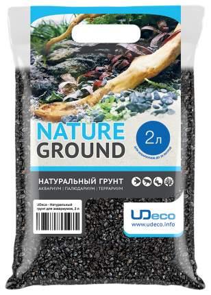 Грунт для аквариума UDeco Canyon Black 6-12 мм 2 л UDC420382