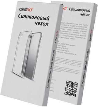 Чехол силиконовый Onext для телефона Huawei Y6 (2018) Transparen