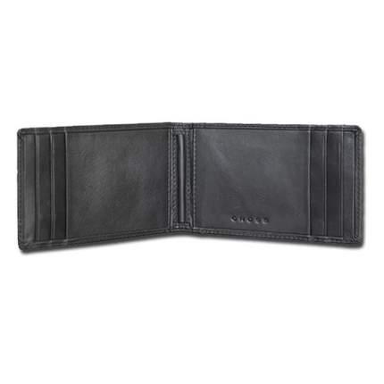 Держатель для денег Cross Classic Century, черный, 11х7,8х1 см