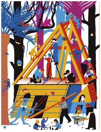 "Книга ""Дома и домики в Бермудском треугольнике"""