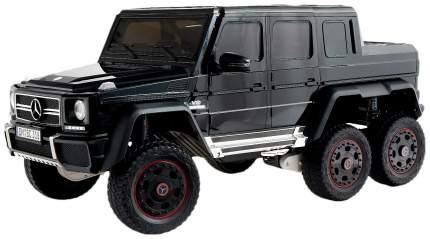 Электромобиль Sima-Land MERCEDES-BENZ G63 AMG 6x6 черный глянец, 6WD полный привод, EVA