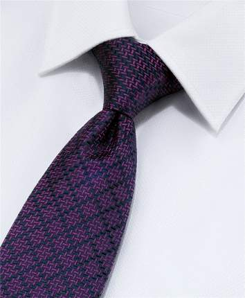Галстук мужской HENDERSON TS-1648 фиолетовый