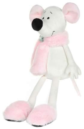 """Мягкая игрушка """"Крыса Василиса в розовом шарфике и тапочках"""", 28 см"""