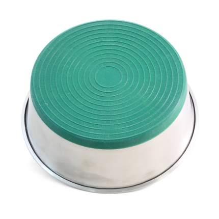 Миска для животных Triol Green, утяжеленная, 1,1л