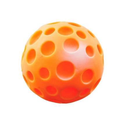 Апорт для собак Зооник Мяч луна большой, в ассортименте, 14 см