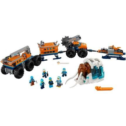Конструктор пластиковый BELA 10997 Передвижная арктическая база