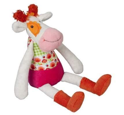 Мягкая игрушка Ebulobo Коровка Молли с погремушкой внутри