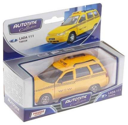 Машина Autotime ваз lada 111 такси 1:36 2703