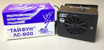 Отпугиватель грызунов ультразвуковой Тайфун ЛС 800, 12V