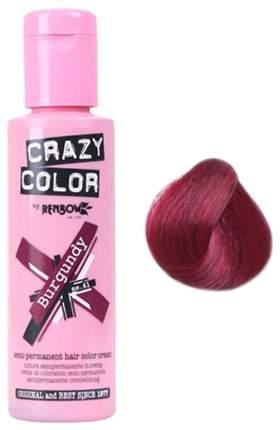 Краска для волос Crazy Color 61 Burgundy Бургунди 100 мл