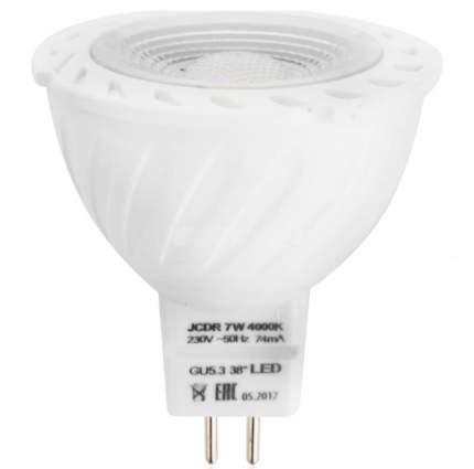 Лампочки Красная цена JCDR 7W GU5.3 4000K 12 шт