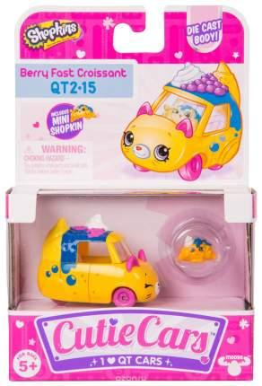 Машинка Cutie Car Berry fast croissant с фигуркой Shopkins, 3 сезон