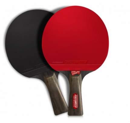 Ракетка для настольного тенниса Start Line 12502 Level 400, черно-красная
