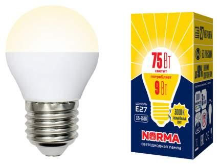 Лампа светодиодная Volpe NORMA LED-G45-9W/WW/E27/FR/NR G45 E27 9W