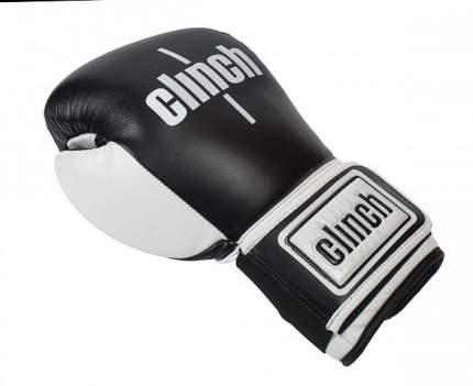 Боксерские перчатки Clinch Punch черные 14 унций