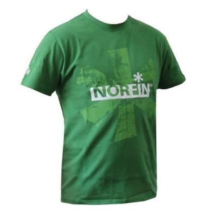 Футболка мужская Norfin Brand, зеленая, L INT