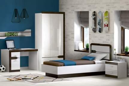 Платяной шкаф Hoff Ронда 80318746 100,4х215,4х51,6, белый