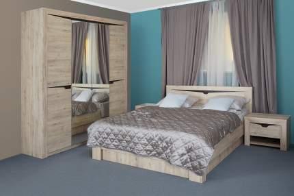 Кровать без подъёмного механизм Hoff Соренто, дуб бонифаций