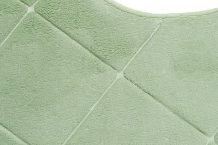 Коврик для туалета MiCasa Feeling 50х50 см зеленый