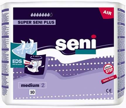 Подгузники для взрослых SENI Super Seni Plus Medium, 10 шт (ME10-A02)