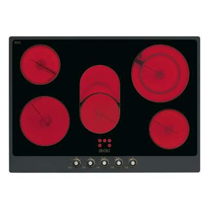 Встраиваемая варочная панель электрическая Smeg P775AO Black