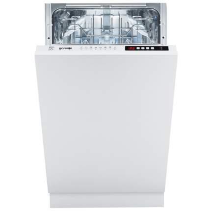 Встраиваемая посудомоечная машина 45см Gorenje GV53250