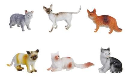 Набор животных Bondibon ребятам о зверятах, кошки, 3
