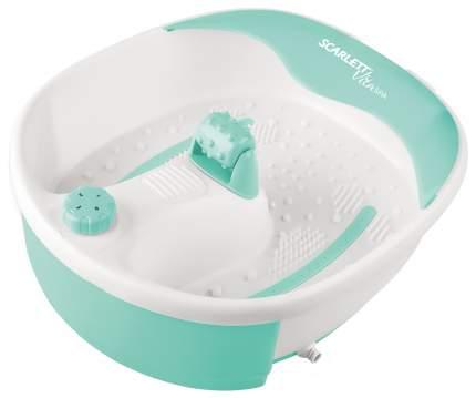 Массажная ванночка для ног Scarlett SC-FM20101 white/green