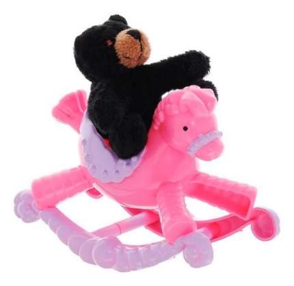 Мягкая игрушка Beanzees B32031 плюшевая Медвежонок на пони-качалке